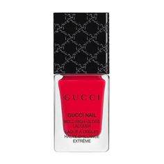 Gucci Ardor, Bold High-Gloss Lacquer ($29) ❤ liked on Polyvore featuring beauty products, nail care, nail polish, beauty, bright, nails, glossy nail polish, shiny nail polish, gucci and bristle brush