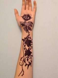 Feyre's Tattoo- artwork done by pinner Tessa @Issiliranitae