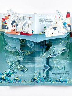 Under the Ocean pop up book moonpicnic.com