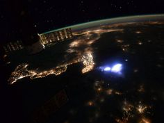 Italy from space with a storm near the heel of the boot. Scott Kelly, day 197 in space. OCT 15, 2015