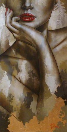 New Painting Art Beautiful Artworks Ideas L'art Du Portrait, Iris Art, Beautiful Artwork, Oeuvre D'art, Figurative Art, Love Art, Painting Inspiration, Painting & Drawing, Woman Painting