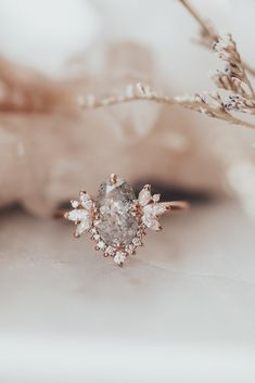 Unique Wedding Bands, Cute Wedding Ideas, Wedding Rings, Ring Verlobung, Gold Ring, Beautiful Engagement Rings, Vintage Engagement Rings, Or Rose, Rose Gold
