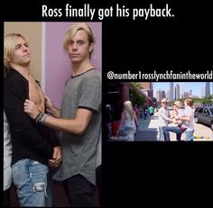 oh and rydel ellington is dating