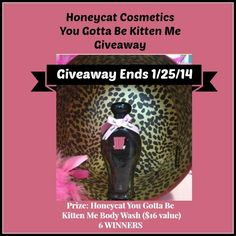 #Giveaway - 6 Winners from Honeycat - Jenn's Blah Blah Blog - Travel, Recipes, Tech Talk, Giveaways and Sweepstakes, Product Reviews and MOR...