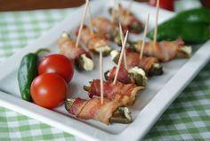 Bacon-wrapped Jalapenos (Gefüllte Jalapenos mit Speck)