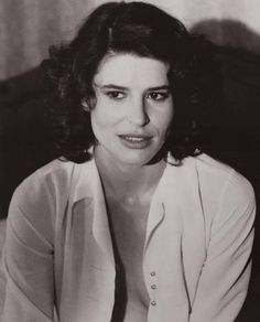Fanny Ardant with His white shirt *¨*•⊰✿