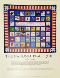 Poster - National Peace Quilt | Syracuse Cultural Workers