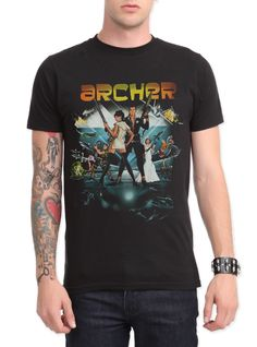Archer Season 4 Slim-Fit T-Shirt | Hot Topic