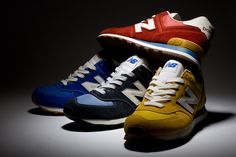 New Balance Spring/Summer 2013 M574 'Vintage Pack'   FNG magazine