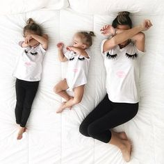Mommy and Me Lash & Lips T Shirt   Babble Bear Boutique