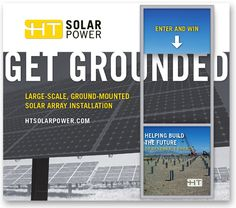 HT Solar Tradeshow Displays, Highway Technologies, Trade Show Graphics, Sustainable Company Branding