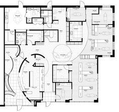 Floor Plan Samples Healthcare Public Areas