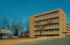 Osteopathic Hospital - South Bend, Indiana. My brother and I had tonsillectomies here and they let us stay in the same room so that Mom wouldn't have to run between 2 rooms.
