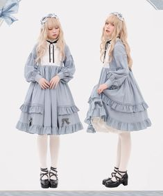 LolitaWardtobe - Bring You the latest Lolita dresses, coats, shoes, bags etc from Trustworthy Taobao indie Brands. We never resell Lolita items from untrustworthy Taobao stores. Vintage Outfits, Vintage Fashion, Kawaii Fashion, Lolita Fashion, Cosplay, Mode Lolita, Real Costumes, Vintage Mode, Vintage Style