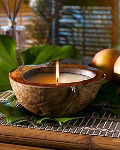 #Vela de #coco para crear tu momento de #relajación. #velas