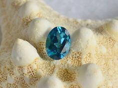 Blue topaz topaz cabochon loose gemstones by MontanaAnniesJewelry