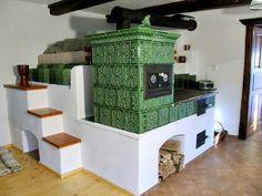 Stair Shelves, Stove Heater, Rustic Country Kitchens, Vintage Stoves, Japanese Interior Design, Archi Design, Cottage Renovation, Home Fireplace, Rocket Stoves