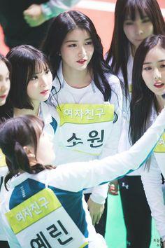 Gfriend for ISAC 2018 Cr: owner Korean Group, Korean Girl Groups, Kim Ye Won, Gfriend Sowon, Korean Entertainment, G Friend, My Little Baby, Music Photo, Beautiful Asian Girls