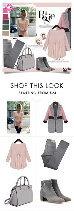 """""""SheIn(contest)"""" by aida-banjic ❤ liked on Polyvore featuring mode, GALA, Whiteley, Comptoir Des Cotonniers, MICHAEL Michael Kors, Gianvito Rossi, Martha Stewart, Topshop, Sheinside et shein"""