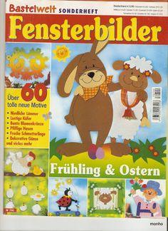 Wielkanocne okna - monholeta3 - Picasa Webalbumok Crafts To Make, Crafts For Kids, Diy Ostern, Decorative Tile, Tole Painting, Kirigami, Classroom Decor, Easter Crafts, Decoration