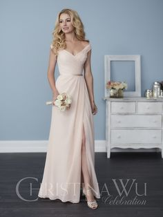 Full-length A-line chiffon dress with pleated straps and bodice, a sweetheart neckline, and a cute satin belt. Pictured in: Blush Pink/Blush Pink. Contact an authorized retailer for fabric and color options. Contact an authorized retailer for fabric and color options.
