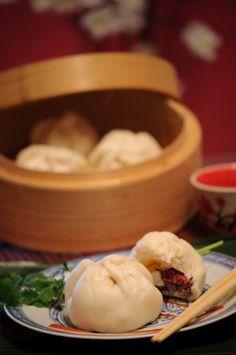 Steam meat buns | Banh Bao