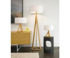 Jacob Oak Floor Lamp,Lighting,Beacon Lighting  Floor lamp: $249