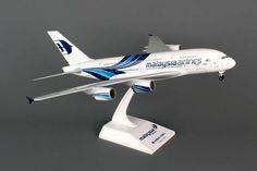Skymarks Malaysia Airbus A380-800 Scale 1/200 SKR693 http://www.airspotters.com/skymarks-malaysia-airbus-a380-800-scale-1200-skr693-24185-p.asp?utm_content=buffer318f5&utm_medium=social&utm_source=pinterest.com&utm_campaign=buffer NOW INSTOCK