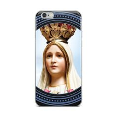 Items similar to iPhone Case - Our Lady of Fatima - catholic gifts - catholic cover - religious cover - iPhone Cover - Virgin Mary cover on Etsy Catholic Gifts, Catholic Art, Religious Gifts, Pray Always, Lady Of Fatima, Holy Rosary, Virgin Mary, Our Lady, Fiat