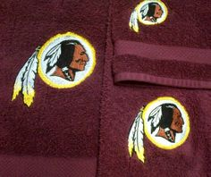 Hey, I found this really awesome Etsy listing at http://www.etsy.com/listing/124799139/washington-redskins-logo-embroidered