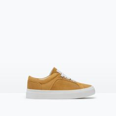 Image 1 of SUEDE PLIMSOLL from Zara