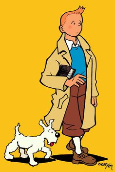 Tintin - One of my aspie grandson's obsessions :-)