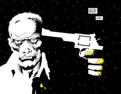 Frank Miller  - sin city - An old man dies, a young man lives. Fair trade. I love you Nancy.