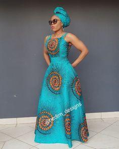 African Print Maxi Dress @ nedim_designs By Diyanu African Print Dress Designs, African Print Clothing, African Print Fashion, Africa Fashion, African Prints, African Design, Tribal Fashion, African Fabric, Long African Dresses