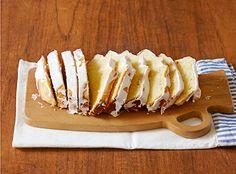 栗原はるみさんのとっておきレシピ | バターケーキ(レモンソースがけ)