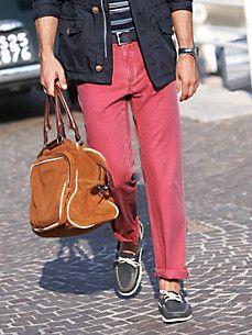 Bugatti - Comfortable trousers in SUPIMA cotton Morocco Fashion, Trousers, Pants, Bugatti, Mom Jeans, Cotton, Men, Trouser Pants, Trouser Pants