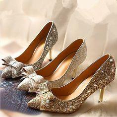 foto reali sottolineato stiletti con le scarpe di strass da sposa partito scarpe arco scarpe