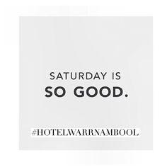 how good is your Saturday? #hotelwarrnambool #warrnambool #pub3280 #eat3280 #love3280 #saturdaynight by destinationwarrnambool