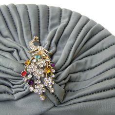 Turban Hat Head Wrap Stretch Turban Full Fashion by curtainroad