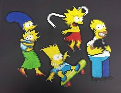 90's Simpsons by @the_canadian_sensation77