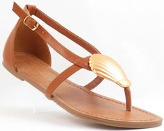 Embellished Thong Sandals, Ankle buckle closure. We love these sandals, they give you the bohemian style, they are a must have because mermaids need chic sandals, too. - Material: Faux Leather - Toe S