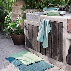 "Duschvorleger ""Schlossberg Nova"" in 12 Farben - Bedandroom Bath Towels, Bath Mat, Nova, Oeko Tex 100, New Life, Shower, Rugs, Sand Beach, Cotton Towels"