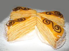 Torta de panqueques de naranja - Como hacer panqueques