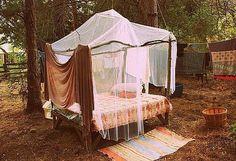 nature. boho. hippie. tent.