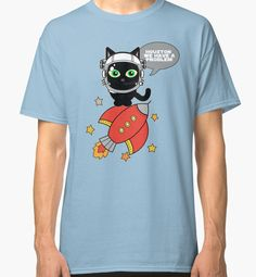 Space Cat - Houston we have a problem by augustinet