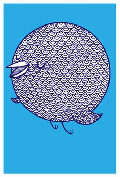 Happy Bird Art Print