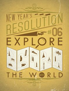 My New Year's Resolution #3: Explore the world | by Viktor Hertz on Flickr #NewYears #goals #resolutions