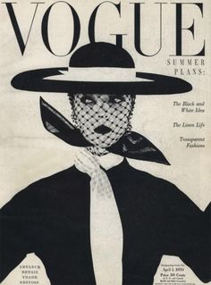 Photographed by Irving Penn, Vogue, April 1950