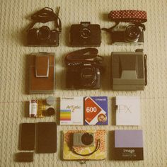 Retro cameras are way better looking then modern digital ones!