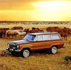 Blog on Jeep.com! <3 Jeep® Heritage | 1984–1991 Jeep Grand Wagoneer